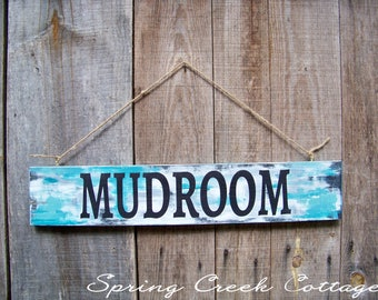 Beach Decor, Mudroom, Wood Sign, Coastal Living, Rustic Signs, Home Decor, Handpainted, Beach House, Home And Living, Mudroom Decor