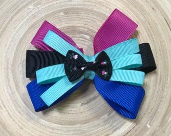 Frozen Anna inspired bow