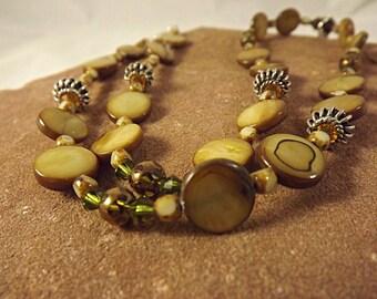 Boucles d'oreilles et collier avec pendentif Jasper en bambou: bambou chanceux