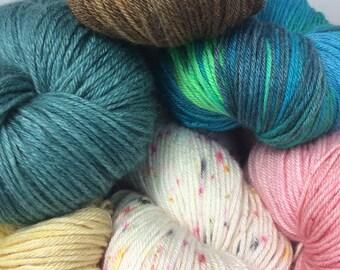 Merino/Bamboo/Silk Sock Yarn