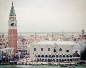 Venice Photography - St. Mark's Square - Basilica - Piazza San Marco - Doge's Palace - Torre dell'Orologio - Italy Photography