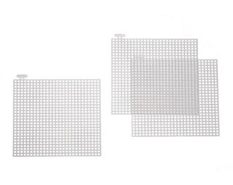 Square-Shaped Plastic Canvas - 4in. X 4in. - 7 Mesh - 10 Pieces/Pack (dar33019)