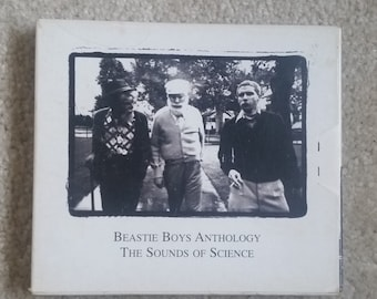 Beastie Boys (CD) - Anthology: The Sounds Of Science (2X CD with color booklet/Shake Your Rump/Brass Monkey/So What'cha Want)