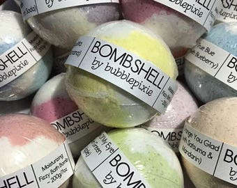 Choose Any 3 Bombshell Handcrafted Bath Bombs