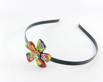 Headband flower color