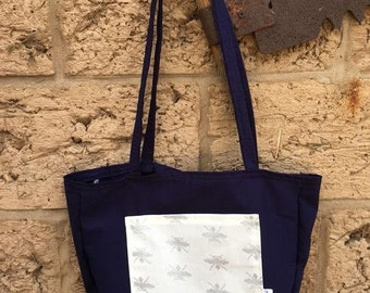 Australian Tote Bag with pocket - Shopping Bag - Market Bag - Tote