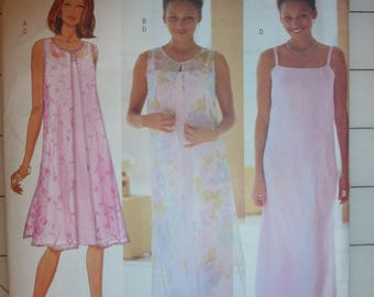 Butterick Pattern 6114 for Misses'/Misses' Petite Duster and Dress Size 20-22-24