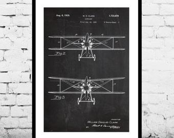 Airplane Decor, Airplane Art, Airplane Print, Aviation Decor, Airplane Patent, Aviation Art, Aviation Art, Pilot Gift,