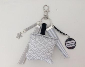 KEYCHAIN mistress ribbons cushion