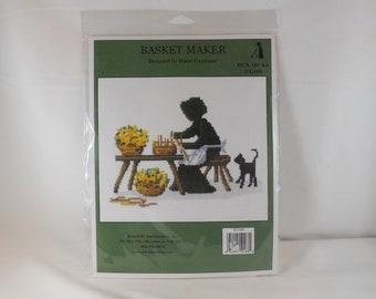 Basket Maker Counted Cross Stitch Kit - Imaginating