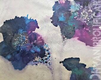 Herbacious- Original Abstract Acrylic Painting