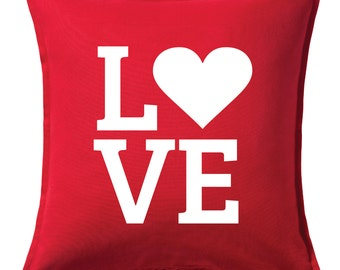 LOVE  -  Valentines Day Pillow