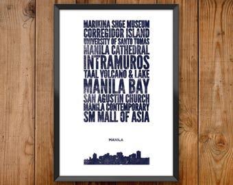 Manila City Print
