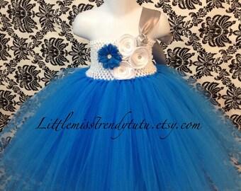 Turquoise Flower Girl Dress, Turquoise Tutu Dress, Flower Girl Tutu Dress, Turquoise Tutu, Blue Flower Girl Tutu Dress, Turquoise Tutu
