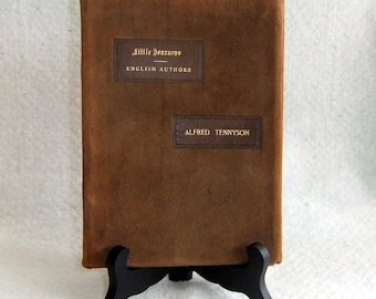 Vintage Book, Little Journeys- English Authors-Alfred Tennyson by Elbert Hubbard