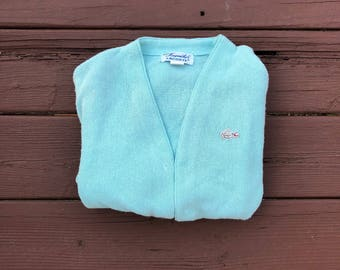 Lacoste cardigan sweater