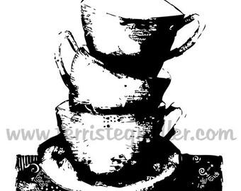 Thermofax Screen - Cups