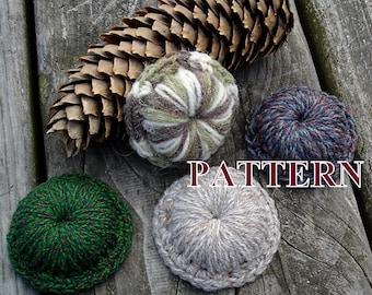 Brooch crochet PATTERN, brooch pattern, crochet brooch, crochet jewelry, pattern crochet brooch, crochet pattern brooch OlgaAndrewDesigns115