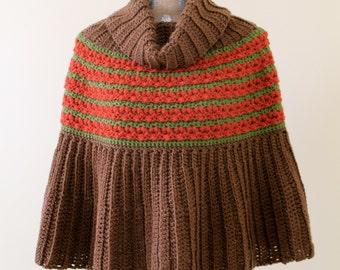 crochet poncho pattern - Harvest Poncho crochet pattern crochet poncho crochet shawl pattern womens poncho pdf file