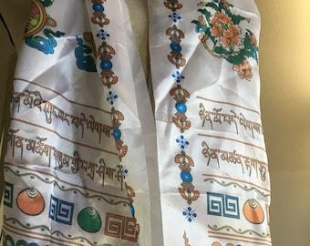 Good luck silk scarf