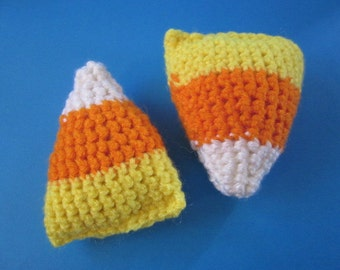 candy corn plush decorations