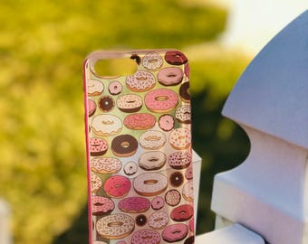 iPhone 7 Plus and 8 Plus Donut Case,pink case