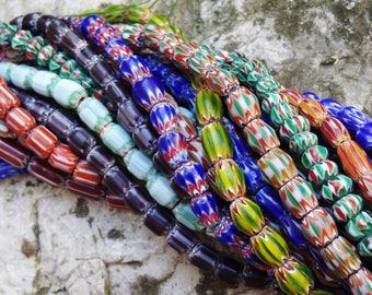 Ceramic Chevron Nepal bead - advertising Page view of set