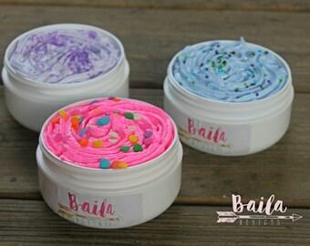 Cotton Candy Sugar Scrub - Exfoliating Scrub - Whipped Sugar Scrub  - Skin Care - Teen Girl  - Organic Body Scrub - Cotton Candy Soap