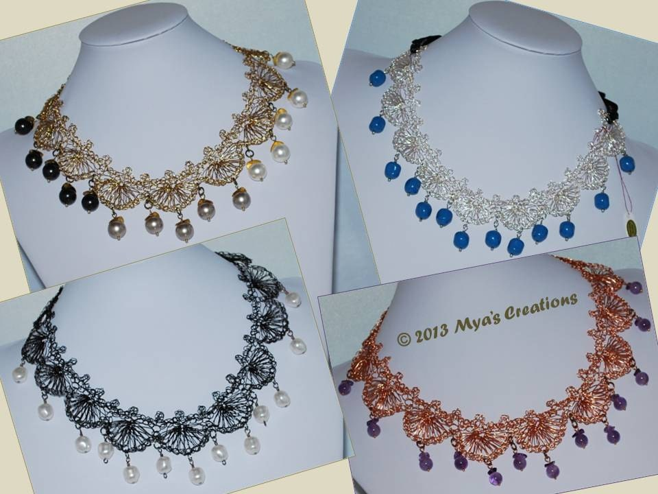 Knit Wire Necklace Pattern - WIRE Center •