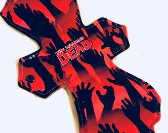 """11"""" Moderate Absorbency - the walking dead"""