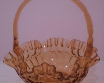 Glass Fruit Basket