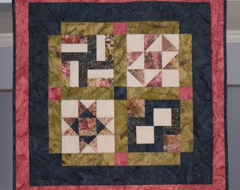 Sage Quilted Table Topper
