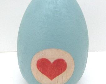 Love Egg, Baby Shower Decor, Gender Reveal Egg, Baby Egg, Adoption Reveal