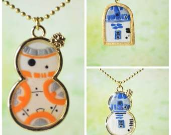 Star Wars Inspired Droid Necklace, Mash-up