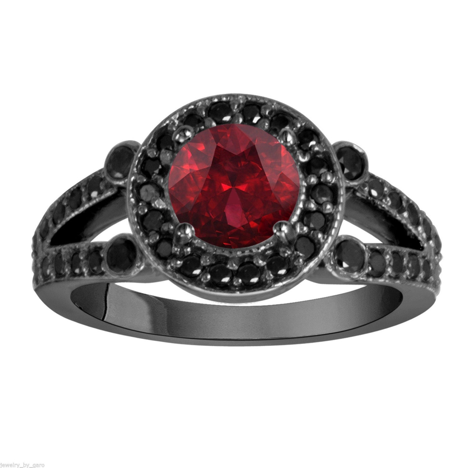 jewel timeless red pandora the rings elegance hut ring