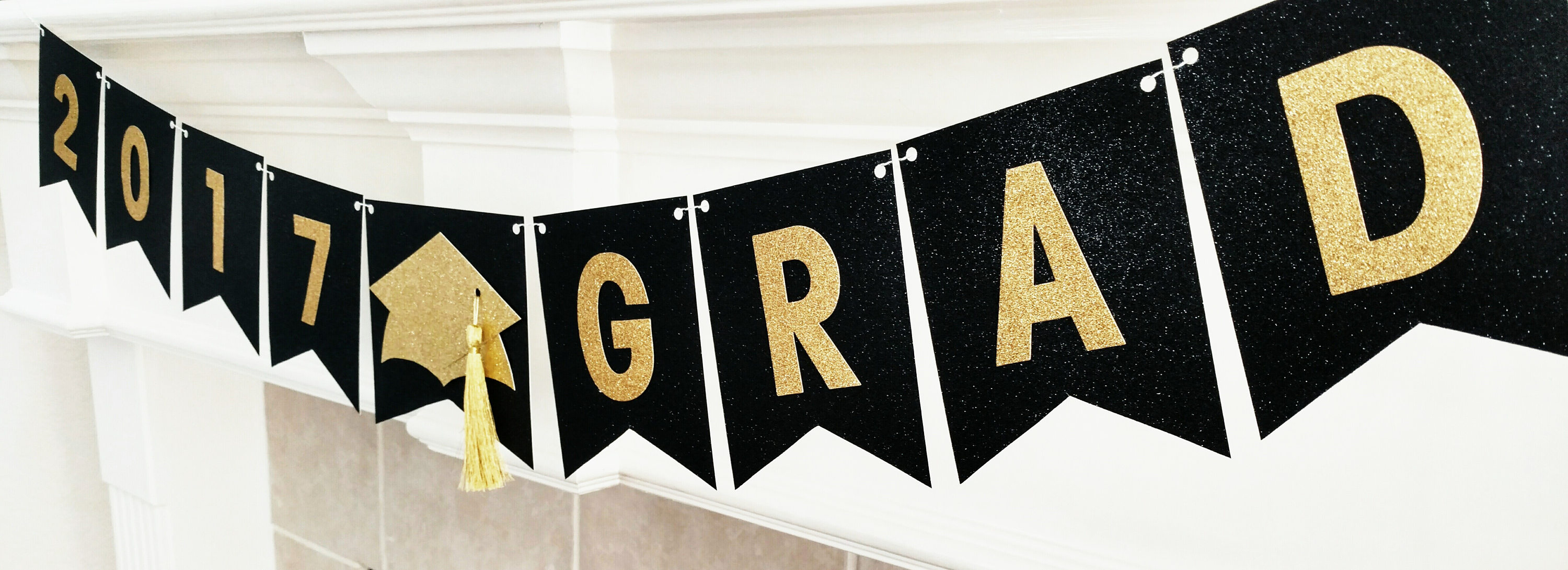 Graduation Party Banner Graduation Banner 2018 Black And