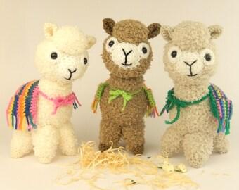 Alicia the Alpaca - Amigurumi Crochet Pattern