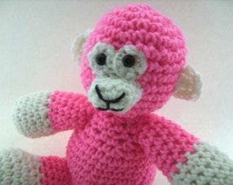 Crochet Monkey Plush Toy