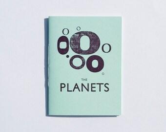The Planets Letterpress Zine