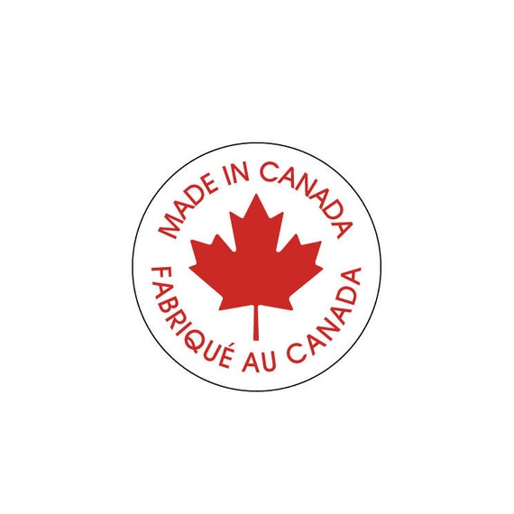 Stickers Made In Canada