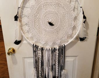 Bohemian Dreamcatcher are wonderful for Home Decor, Nursery, Child's room, Office Decor, Wedding Decor or a Great Gift