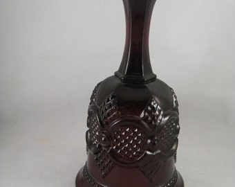 Cape Cod Pattern 1872 Avon Ruby Red Glass Bell