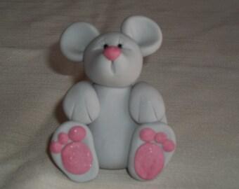 FIMO Mouse Figurine