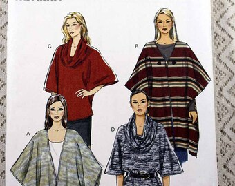 Butterick 5993, Misses' Wrap, Top and Tunic Sewing Pattern, Very Easy Sewing Pattern, Misses' Patterns, Misses' Size Xsm to Med, Uncut