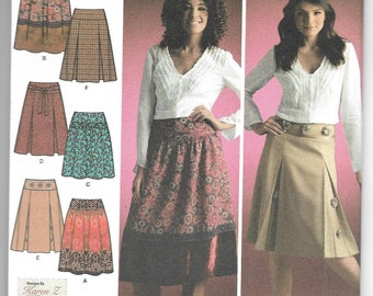Simplicity | 4089 | Misses' Skirts with Length Variations | Uncut and Factory Folded