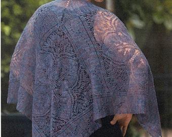 Raku Shawl Pattern - paper copy only