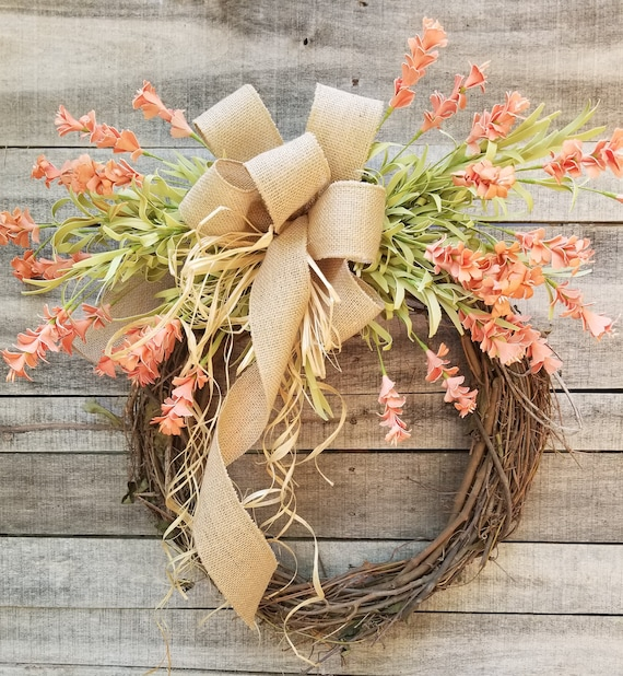 Cream floral Wreath