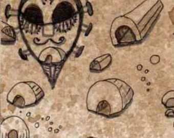 Dwellings and Mask ACEO