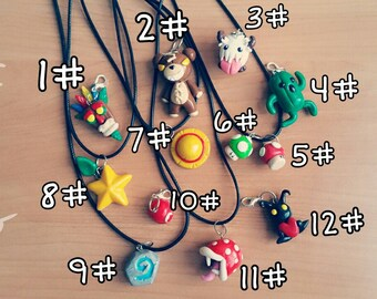 Anime Pendants and video games