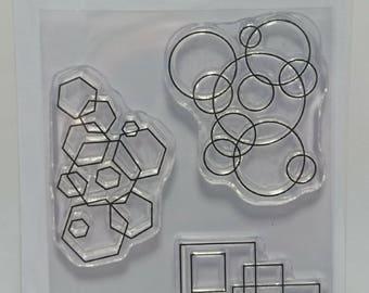 Mini Shape Layers - A7 Stamp set by Imagine Design Create